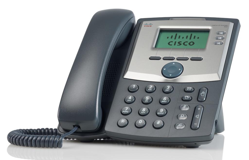 Cisco SPA303 3-Line IP Phone - Hong Kong