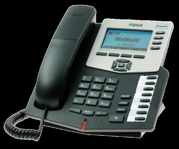 Fanvil C66 IP Phone with POE, Gigabit, BLF , RJ9 Headset jack
