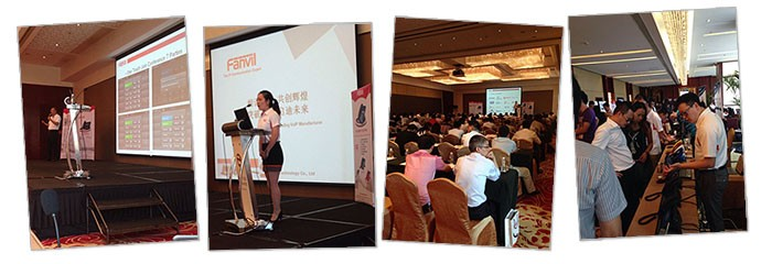 Fanvil New Product Launching Seminar, Shanghai