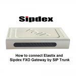How to connect Elastix and Sipdex FXO Gateway by SIP Trunk