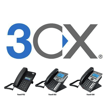 Auto Provisioning Fanvil F52, C58P, C62P IP Phones for 3CX IPPBX