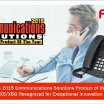Fanvil 榮獲TMC 2015年度通訊方案產品大獎