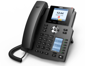 Fanvil X4 /X4G IP Phone - HD Voice, POE, Dual Color Display, Speaker Phone | www.hk-matrix.com