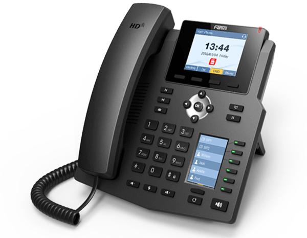 FANVIL X4G 全新雙彩屏企業級網絡電話