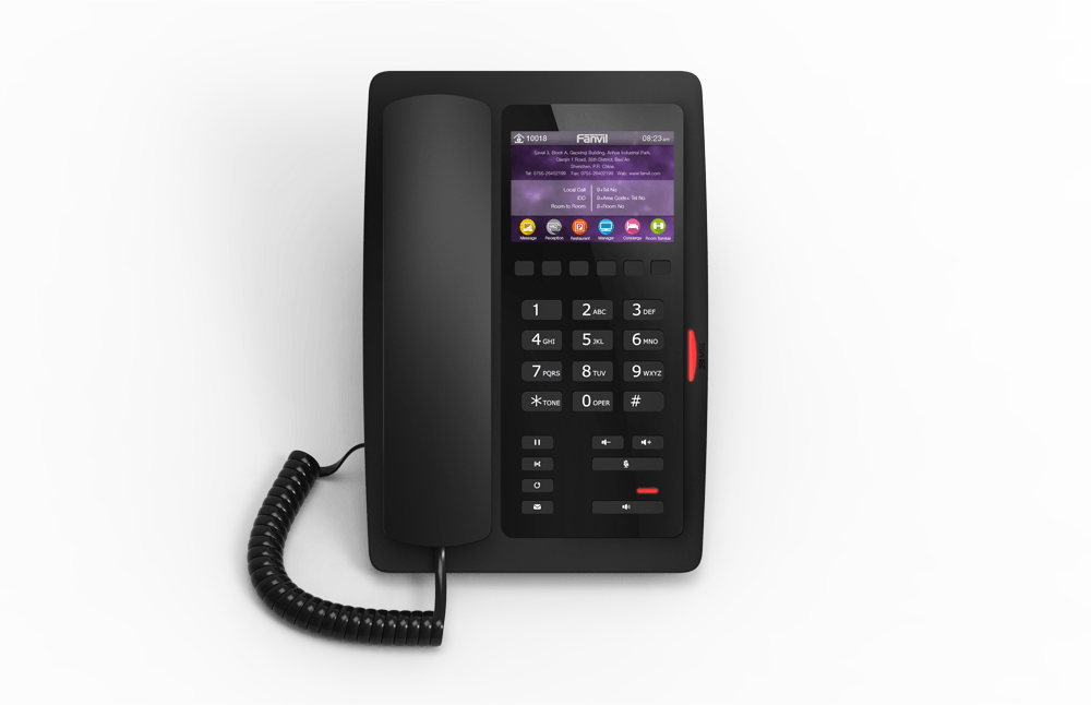 酒店IP Phone - Fanvil H5 Hotel IP Phone | Hotel IP 電話 - H系列 | www.hk-matrix.com | 852 3900 1988
