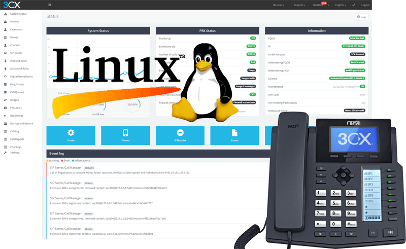 3CX Lands on Linux with V15 SP2
