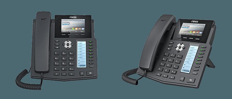 FANVIL X5S全新雙彩 LCD企業級IP電話 - Matrix香港代理: 852 39001988 | www.hk-matrix.com