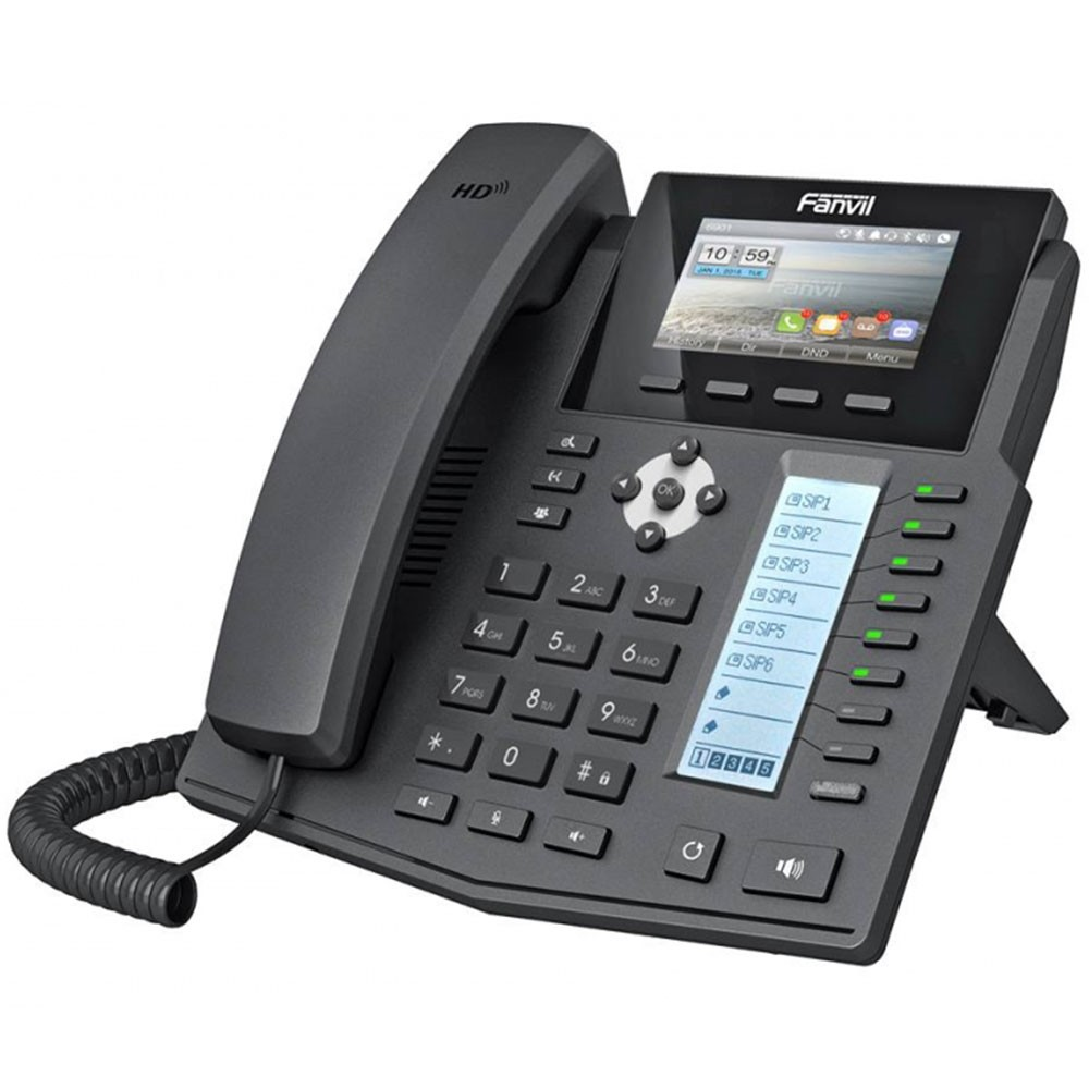 Fanvil X5S Gigabit POE IP Phone Introduction
