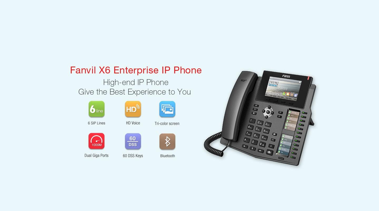 Fanvil X6 IP Phone - Hong Kong Distributor - 香港代理