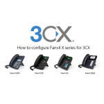 How to configure Fanvil X series for 3CX (v15.5 only)