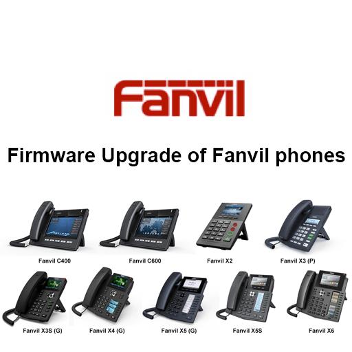 Firmware Upgrade of Fanvil phones
