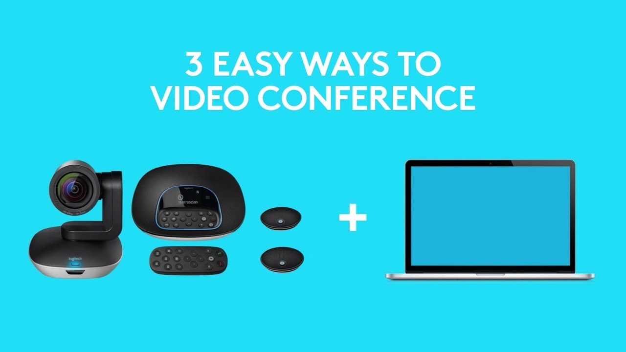 Logitech Video Conference by 3 Easy Ways