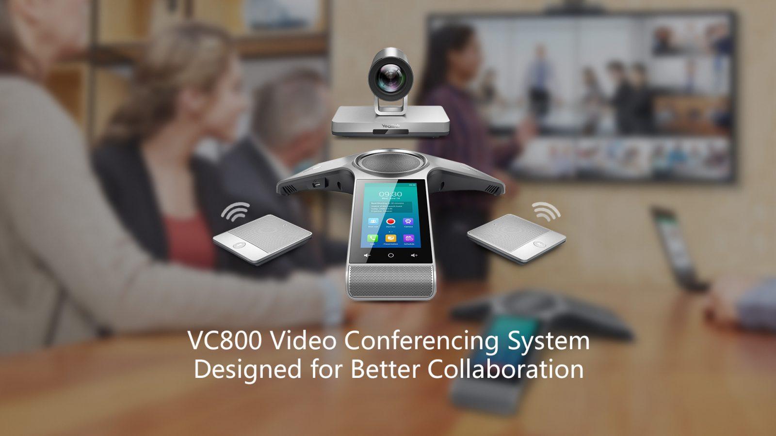 Yealink VC800 Video Conference System- Hong Kong Customer, please contact us. Tel: 3900 1988 - Matrix Technology HK Ltd