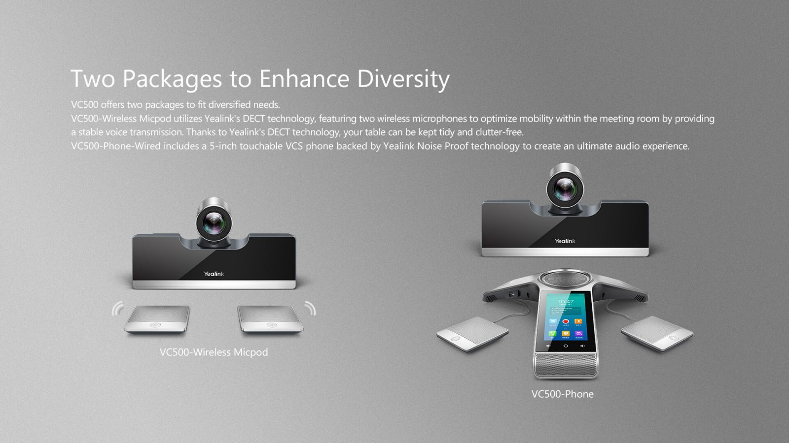 Yealink VC500 Video Conference system