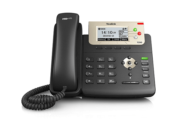 Yealink T23G Gigabit POE IP Phone - - Hong Kong Hotline: 39001988 - Matrix Technology (HK) Ltd