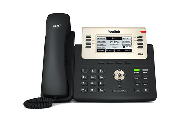 Yealink T27G Gigabit POE IP Phone - - Hong Kong Hotline: 39001988 - Matrix Technology (HK) Ltd