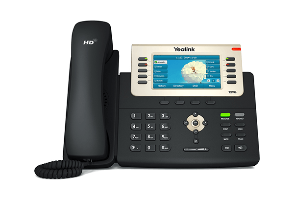 Yealink T29G POE Gigabit Colour IP Phone - Hong Kong Hotline: 39001988 - Matrix Technology (HK) Ltd