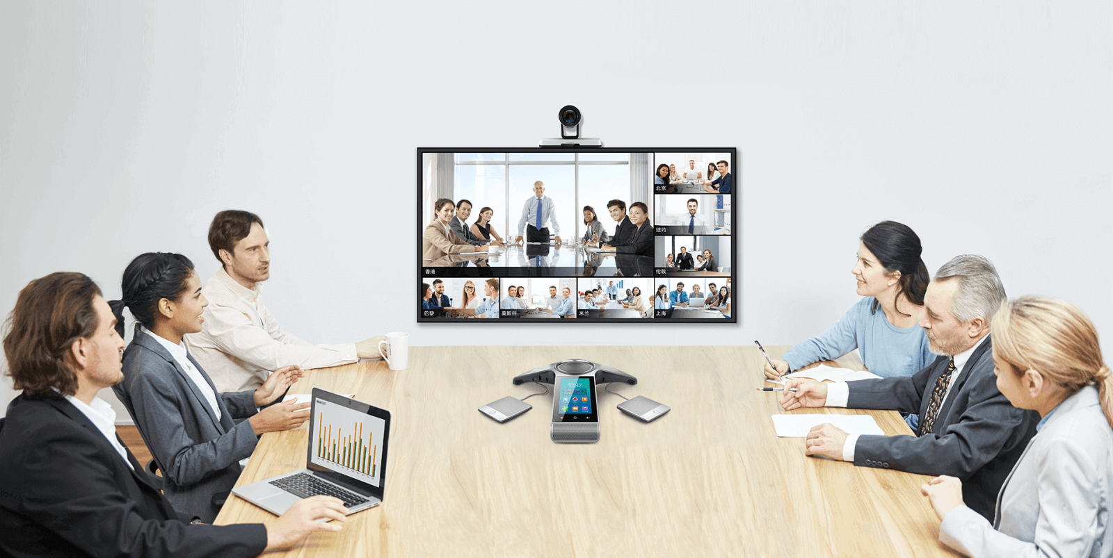 Yealink Video Conference system Solution 視像會議方案