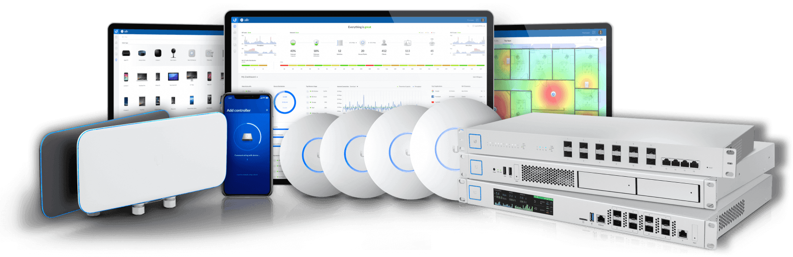 Enterprise WiFi Solution 企業WiFi系統方案 - UBNT UNIFI Ubiquiti - Hong Kong