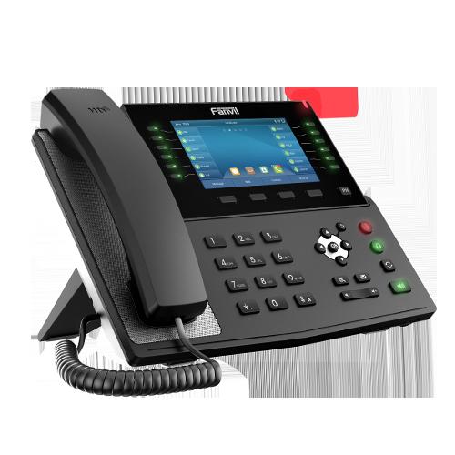 "Fanvil X7C 5""Color Screen Gigabit IP Phone (POE)"