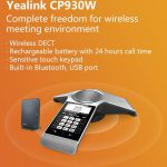 Yealink CP930W Wiresless DECT IP Conference Phone