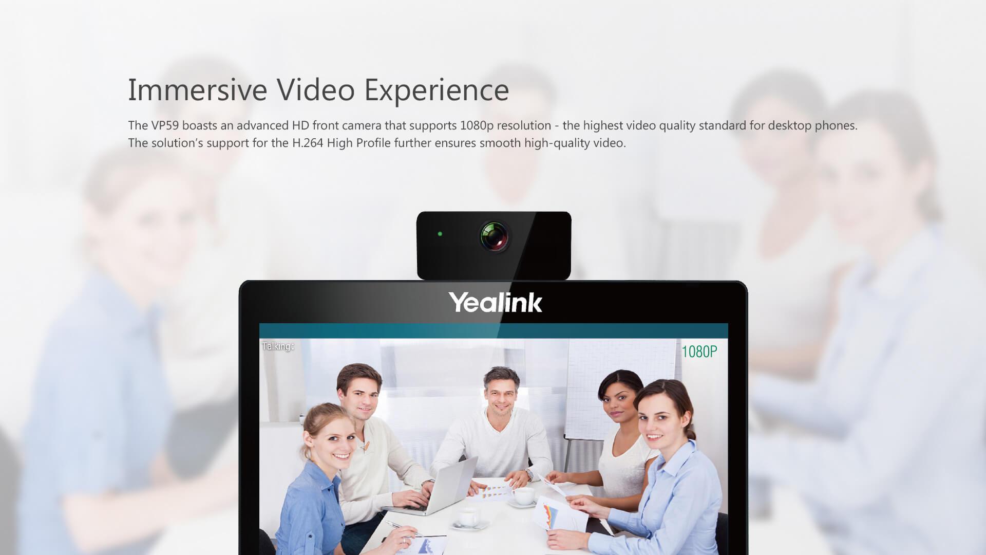 Yealink VP59 Smart Video Phone