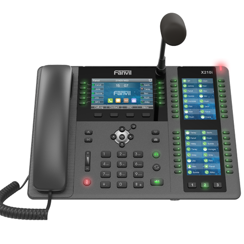 Fanvil X210i PA console IP Phone -  Hong Kong Sales Hotline : 39001988 - Matrix Technology (HK) Ltd