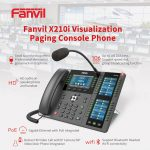 Fanvil X210i PA console IP Phone