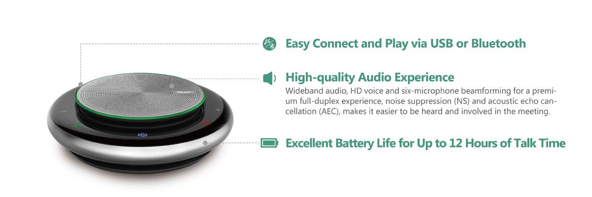 Yealink CP900 Portable Speakerphone