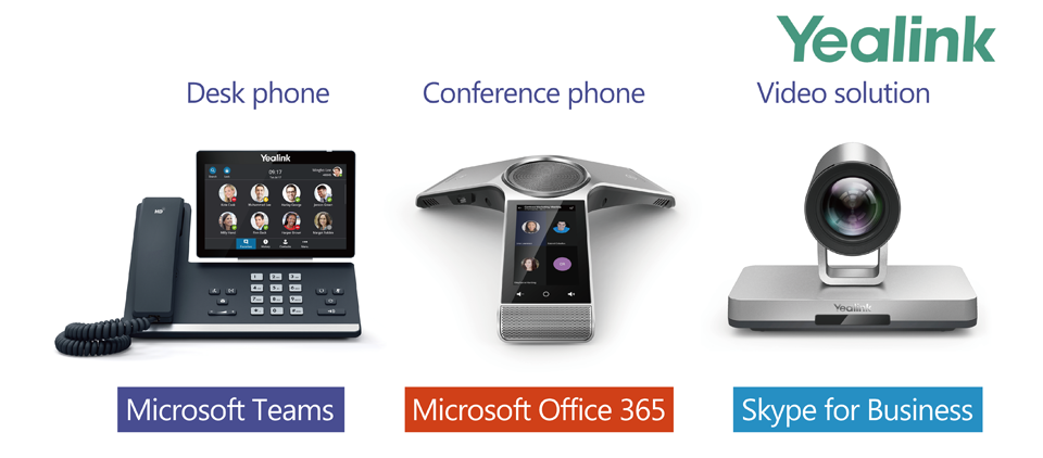 Yealink expands devices portfolio for Microsoft Teams across voice and video