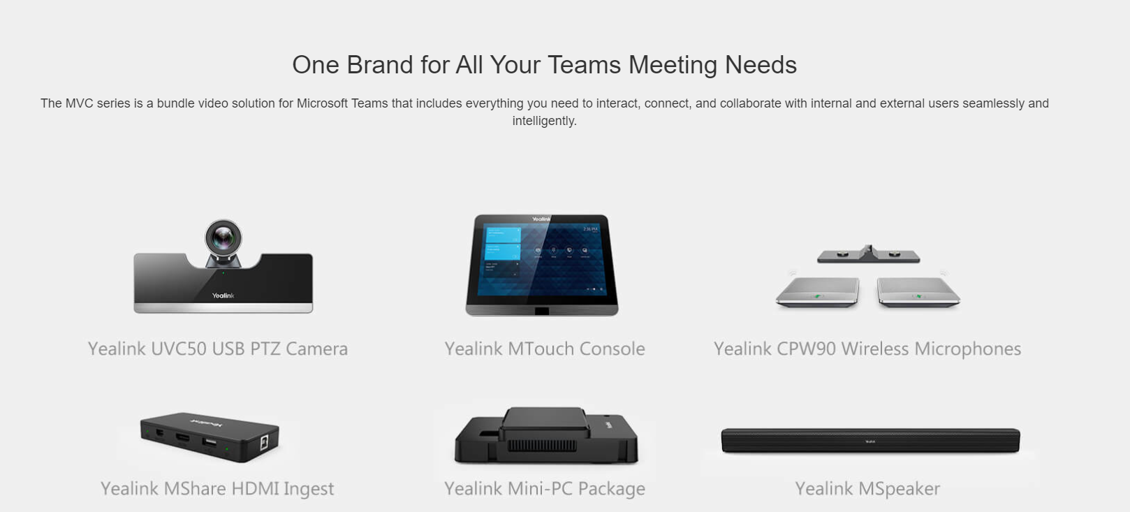 Yealink MVC500 Room System Video solution for Microsoft Teams and Skype for Business - Hong Kong - Sales Hotline 39001988