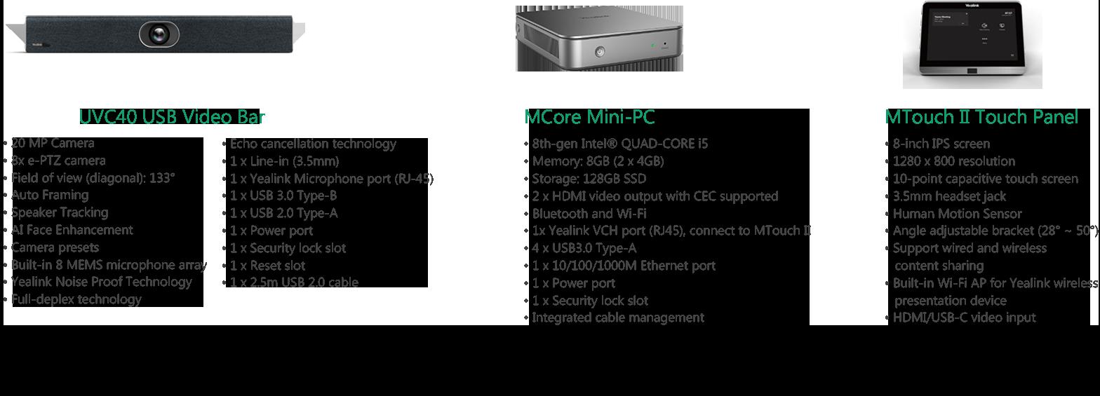 Yealink MVC400 Microsoft Teams Room System